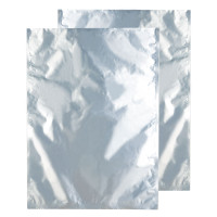 Kush Supply Co. 10 Pound Barrier Bag, Silver Foil
